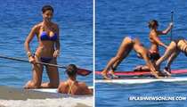 Nicole Murphy -- Board With Yoga ... Unless It's In A Bikini
