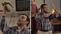 'Snake Salvation' Church -- Killer Rattler Rises Again