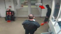 Justin Bieber -- Stumbles in DUI Jail Video ... Cops Think It's Smoking Gun