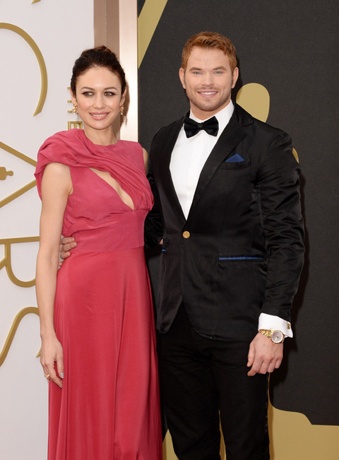 Olga Kurylenko and Kellan Lutz