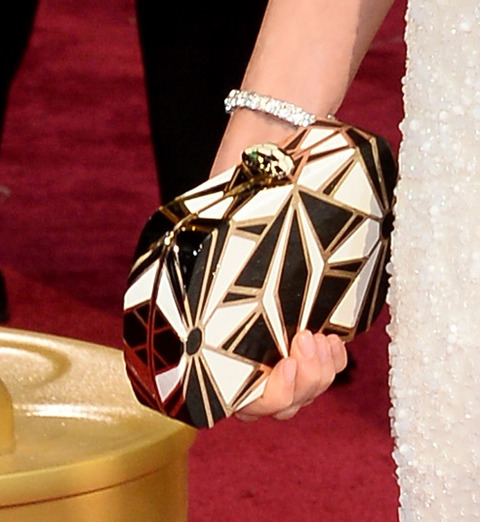 Whose Oscar accessory?