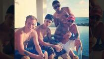 Justin Bieber --  Birthday Partying Bahamas Style