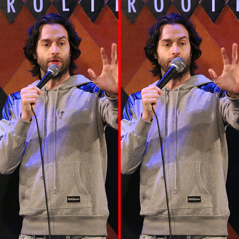 Can you spot the THREE differences in the Chris D'Elia picture?