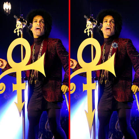 Can you spot the THREE differences in the Prince picture?