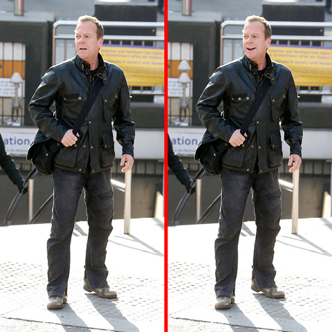 Can you spot the THREE differences in the Kiefer Sutherland picture?