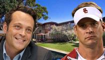 Vince Vaughn -- Buys Lane Kiffin's Beach Mansion