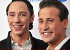 Johnny Weir & Husband Do the Splits -- It's Over!!!