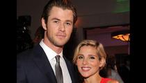 Chris Hemsworth and Elsa Pataky -- Give Birth to Twins