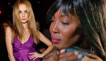 'The Face' Model Kira Dikhtyar -- Naomi Campbell Give Me Boot, Even Though I Vorking Very Hard