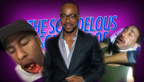 'Scandal' Star Columbus Short -- Gladiators Will Sucker Punch You ... Allegedly