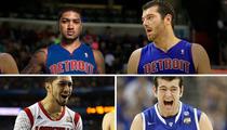 Louisville vs. Kentucky -- Pistons Teammates Wager: Loser Wears My School's Gear