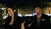 NFL Star Larry English -- Dinner Date with Smokin' Hot Lingerie Model