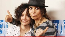 Linda Perry and Sara Gilbert -- Wedding? More Like a Rock Show with Vows