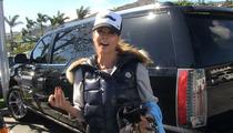 Brooke Burke Charvet -- I Drove into That Fence ... ON PURPOSE