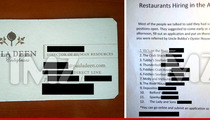 Paula Deen Restaurant Closes -- Sorry We Screwed You Over, But Here's Our Card!