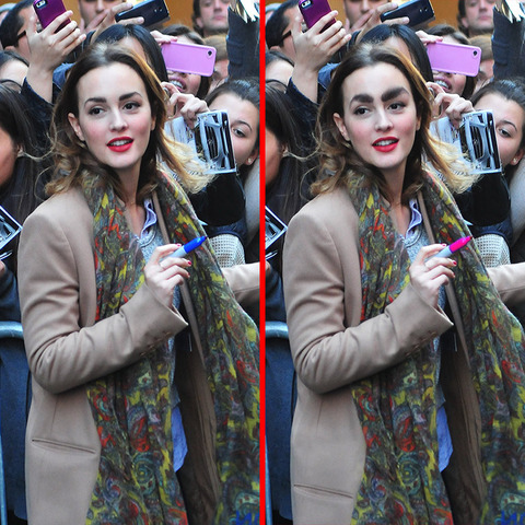 Can you spot the THREE differences in the Leighton Meester picture?