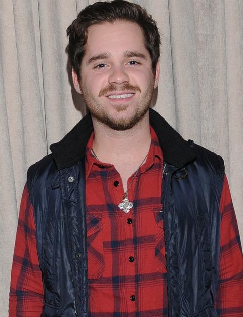 Ryan Pinkston was photographed looking worldly.