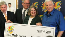 $218 Million Lotto Winner Merle Butler -- I'm NOT Giving Away My Money ... Instagram Account's a Hoax