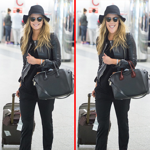 Can you spot the THREE differences in the Nina Agdal picture?