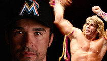 Miami Marlins 1st Baseman -- Using Ultimate Warrior Music ... For Entire MLB Season