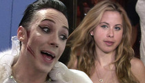 Johnny Weir & Tara Lipinski -- REUNITING FOR KENTUCKY DERBY ... We're 'Fashion Experts' Now!