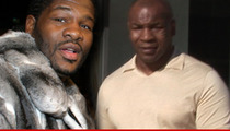 Riddick Bowe -- I Could Beat Mike Tyson ... RIGHT NOW!