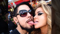 Carmen Electra -- Double Dipping Tongues with Ex-Husband Dave Navarro