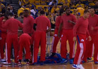 L.A. Clippers Players -- PUBLIC ACTS OF DEFIANCE ... During Playoff Game
