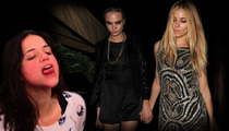 Cara Delevingne -- One Night with Sienna Miller = Sleepless Nights for Michelle Rodgriguez