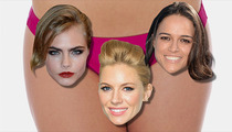 Cara Delevingne -- Shnoystering Sienna Miller ... Which MIGHT Be Hot?