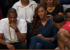 Jay Z & Beyonce -- UNITED FRONT ... at Brooklyn Nets Game