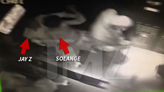 Jay Z ATTACKED By Solange Knowles -- Beyonce's Sisters Phsycial Attack [VIDEO]