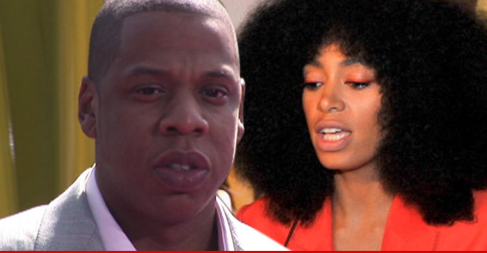 Jay Z & Solange Knowles: Jewelry Shopping TOGETHER