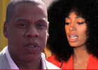 Jay Z and Solange -- Jewelry Shopping TOGETHER
