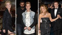 Justin Bieber at Cannes Party -- Dressed to ... What's the Opposite of Impress?