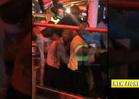 T.I. vs. Floyd Mayweather Jr. -- Brawl Erupts on Vegas Strip [VIDEO]
