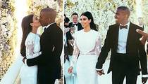 Kim Kardashian & Kanye West's First Kiss ... NO TONGUE