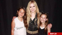 Avril Lavigne -- Fans May Touch Me Now