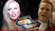 Heidi Montag and Spencer Pratt -- Sweet Payday for 'Celebrity Wife Swap'