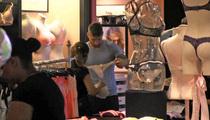 Soccer Star Sergio Ramos -- TEAM PANTY SHOPPING ... At Victoria's Secret