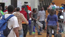 Master P -- ATTACK WITH STEEL CHAIR ... During Fight At Rapper's Basketball Game