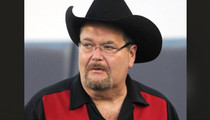 WWE Hall of Fame Announcer Jim Ross -- Suffered 'Stroke-Like Symptoms' Before Hospital Stint