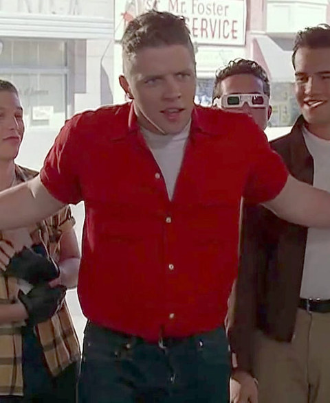 """Thomas Wilson in best known for playing the bully Biff Tannen -- opposite Michael J. Fox and Christopher Lloyd -- in the time traveling '80s """"Back to the Future"""" trilogy."""