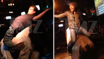 Jack Black and James Marsden -- We Bullride LIKE CHAMPS! (VIDEO)