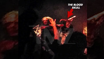 Swedish Metal Band Watain -- Health Department Cool with Pig's Blood on Fans
