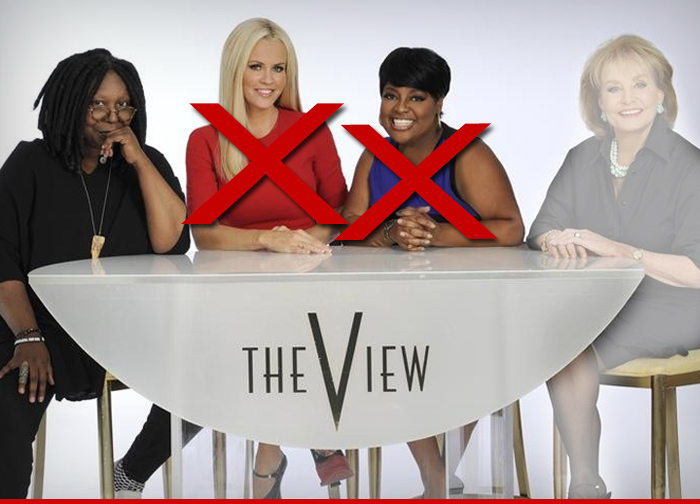The View Is Cleaning House Network Sources Tell Us The Cast Has Been Fired Except For Whoopi Goldberg Our Sources Say There Was A Meeting At Abc Late