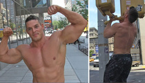 Ex-Big Brother Star -- TROLLS CROSSFIT ... After 41 Street Pull-Ups