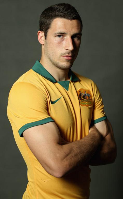 Australia's Mathew Leckie