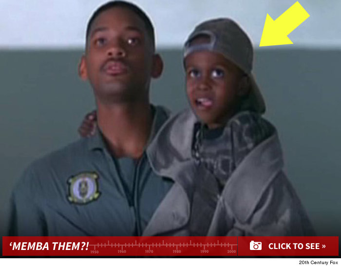 Little Kid In Independence Day Memba Him Tmzaol