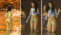 Rihanna -- Loves That Dirty Water Down in Rio